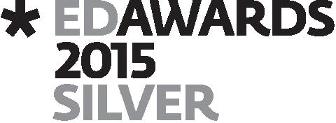 European Design Awards 2015 Silver