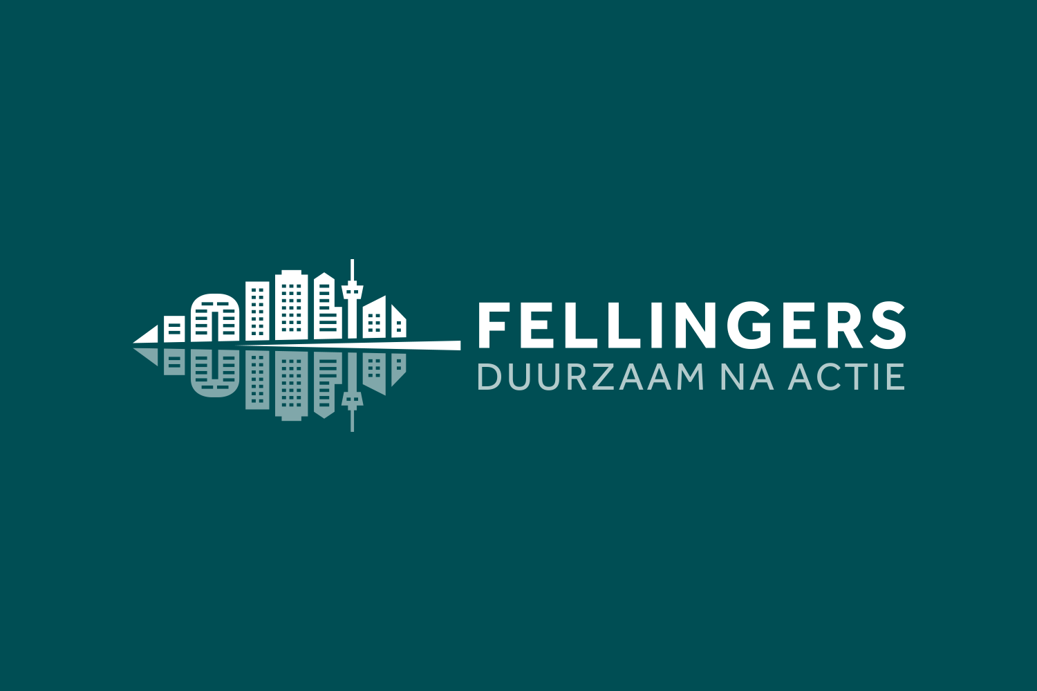Arthur Fellinger is an interim manager specializing in sustainability and corporate social responsibility. Arthur wanted his logo to show that he's based in Rotterdam, so I included some of Rotterdam's landmarks.
